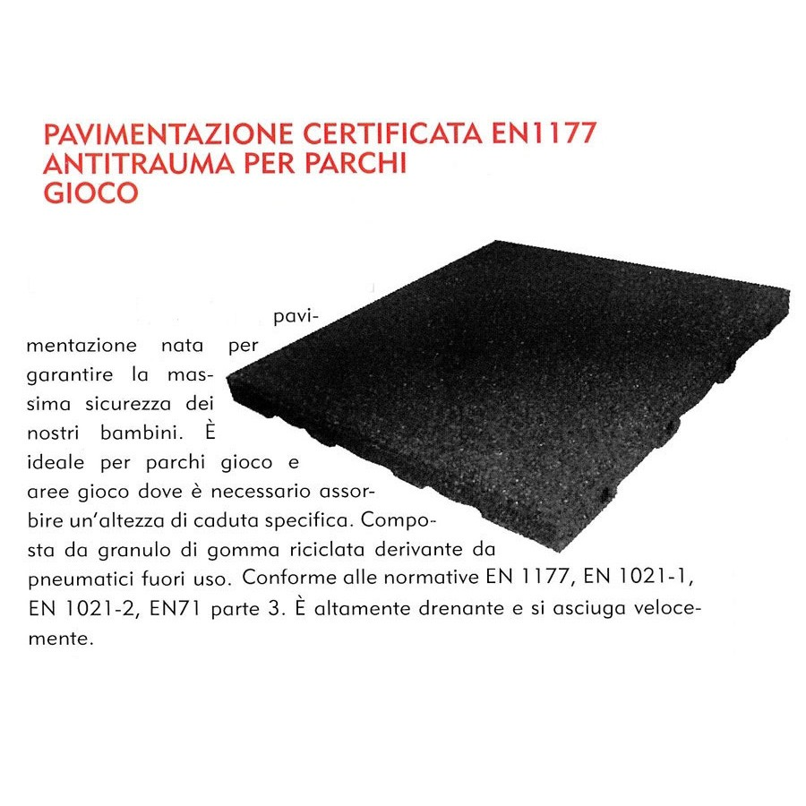 Pavimenti Antitrauma