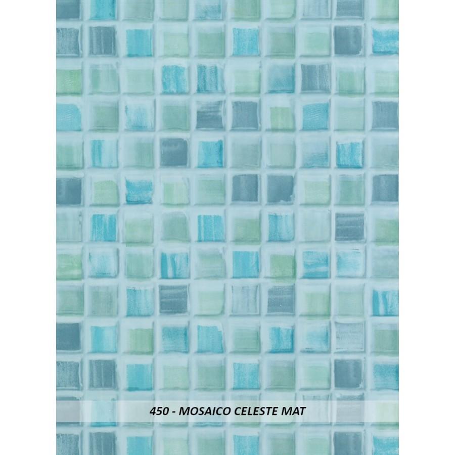 Ottopan Colore Mosaico Celeste Mat 450 (€/mq. 19,50 + iva)