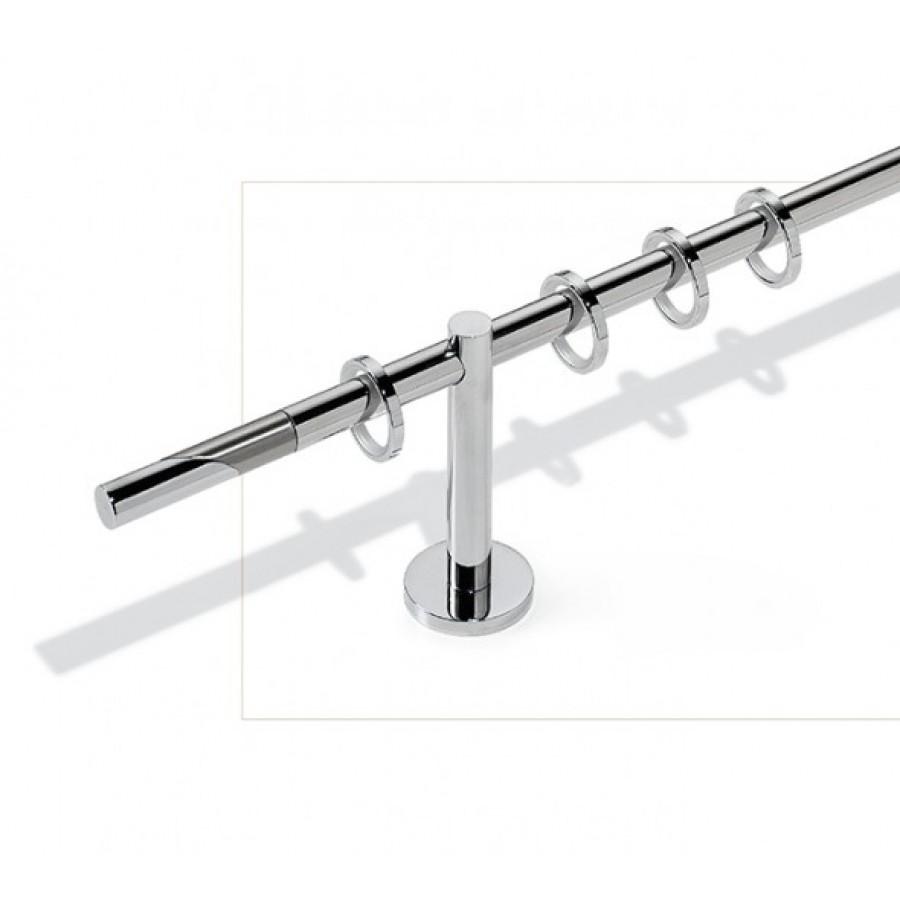 Art. Antares diametro  20 -  bastone cm. 340 acciaio lucido