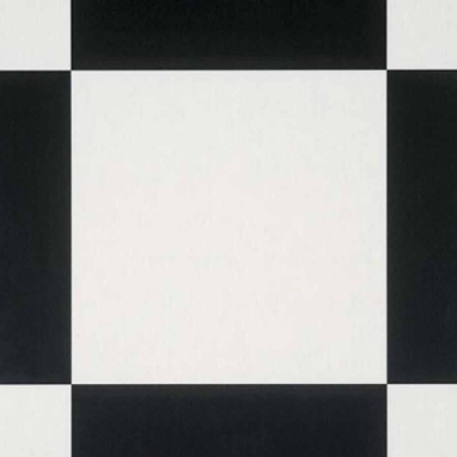 Tarkett Coll. Essential 120 colore SCHACHBRETT-BLACK WHITE  mq 57,60 (€/MQ. 7,50 iva compresa)