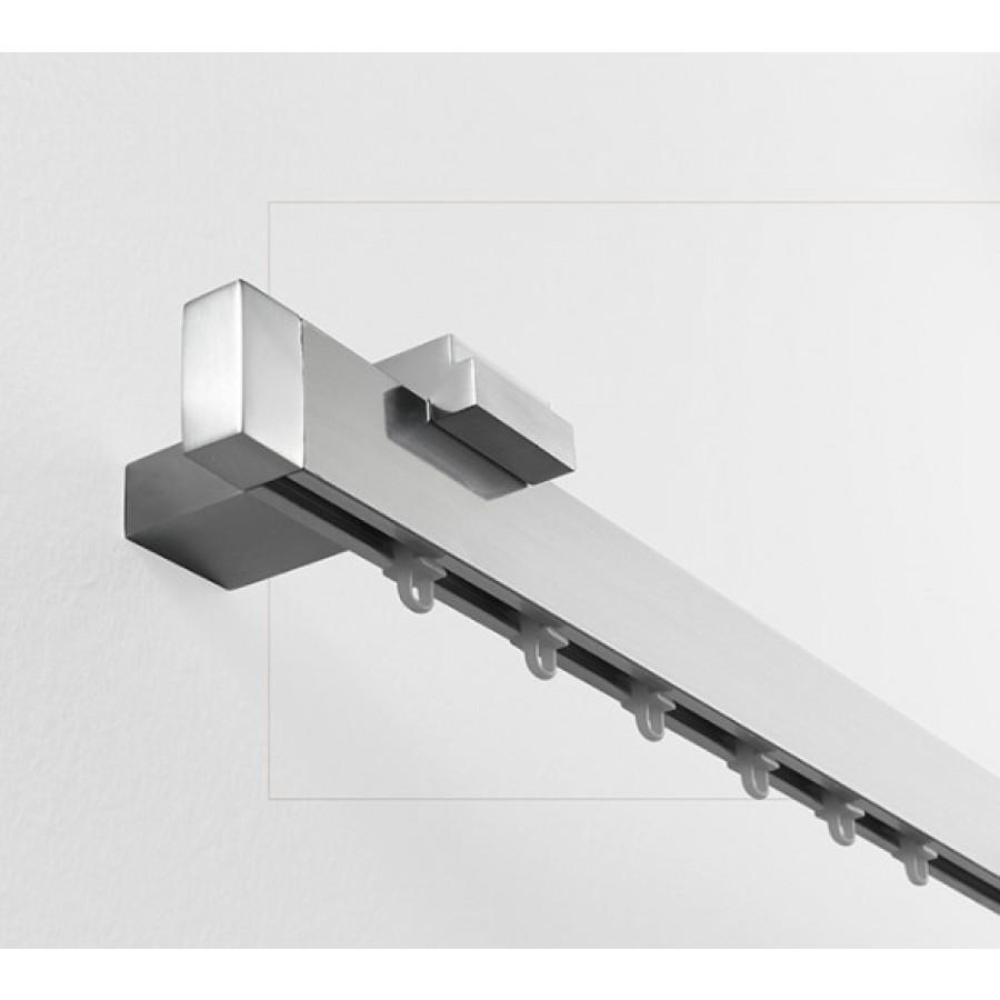 Art. Futura - Lunghezza cm. 240 Finitura Alluminio Lucido