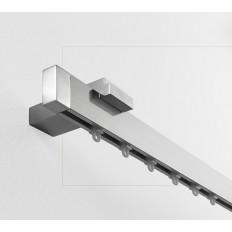 Art. Futura - Lunghezza cm. 200 Finitura Alluminio Lucido