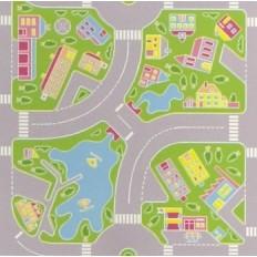 Pavimento per bambini Art. Macadam Green mq. 25 (€/mq. 8,90 iva compresa)