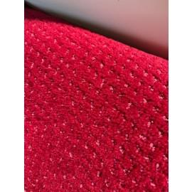 Moquette in velluto Mosaico Cherry TAGLIO