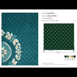 Moquette in velluto Vanity 1000 Green Mq. 100 (€/mq. 15,00 ivato)