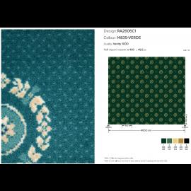 Moquette In Velluto Vanity 1000 Green Mq. 44,80 (€/mq 15,00 ivato)
